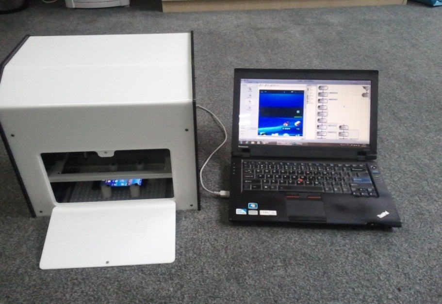 试盒+机械手控制软件